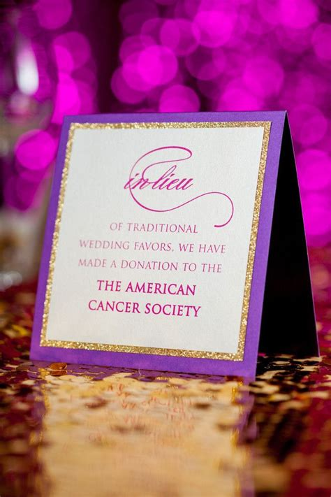 Wedding Gift Donation Site by Donation In Lieu Of Wedding Favor Luxury Wedding Planner