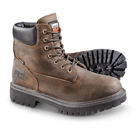 work boots for timberland timberland pro direct attach 6 quot soft toe waterproof work
