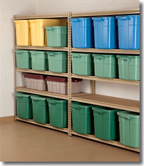 Garage Storage Bin Ideas Garage Shelf Ideas Tips For Selecting Free Standing Wall
