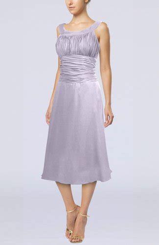 light purple simple sleeveless zip up chiffon tea length prom dresses uwdress