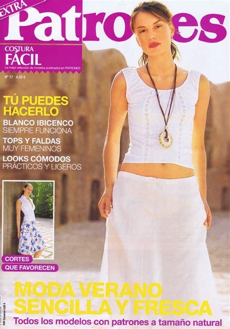revista de patron es diy moda complementos y decoraci 243 n revista patrones
