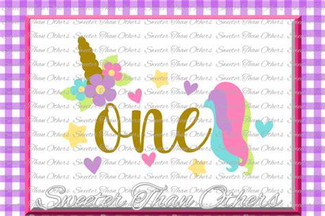 birthday svg st birthday unicorn svg girl dxf