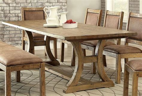 rectangular pine dining table rustic pine extendable rectangular dining table