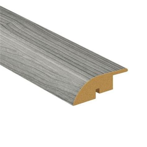 Chair Rail Molding Home Depot by Toptile 94 5 In X 1 77 In Castle Gray Woodgrain Large