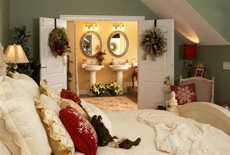 Enter The Christmas Spirit With Creative Bedroom Ideas For Bedroom Decorating Themes