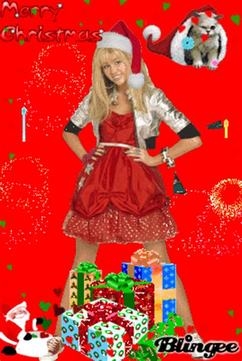 hannah merry christmas picture  blingeecom