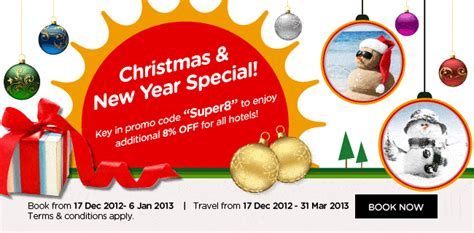 new year hotel promo airasia promotion dec 2012 malaysia lcct relevant