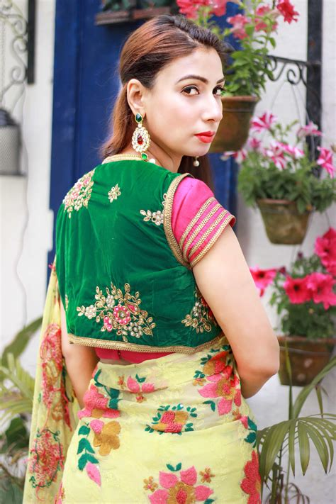 Shoping Blouse By buy designer sarees and blouses pink paparazzi