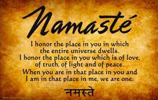 Canopy Meaning In Hindi by The Meaning Of Namaste Many Translations One Universal