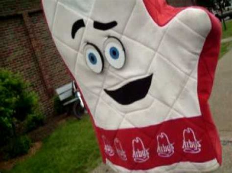 arbys songs s the arbys oven mitt sings a song