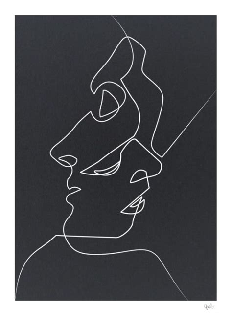 Basic Black Abstrak available for purchase noir black and white minimalist abstract painting