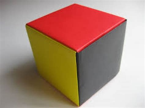 How To Make A Paper Block - how to make paper cube easy way