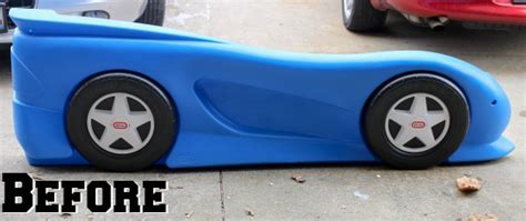 little tykes car bed low budget makeovers you could do with spray paint fall home decor