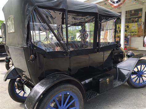 local upholstery shop model t ford forum open trailer car cover