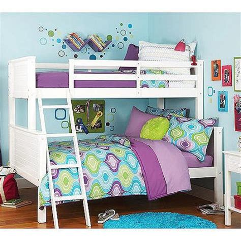 Your Zone Loft Bed by Your Zone Bunk Bed White Walmart