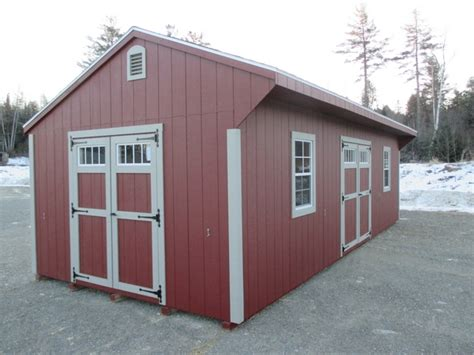 Storage Sheds New Hshire sheds storage barns homes garages cs barns in maine new hshire and massachusetts