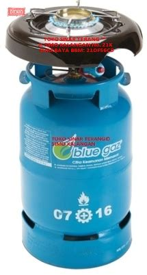 Kompor Blue Gas Satu Set jual kompor gas elpiji lpg blue gas gaz nkd new kompre