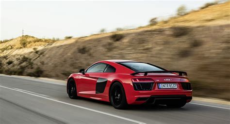 red audi r8 wallpaper audi r8 v10 plus red road hd desktop wallpapers 4k hd