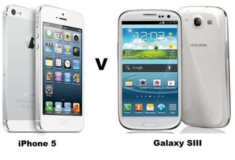what s better galaxy or iphone iphone 5 v samsung galaxy siii which is the better