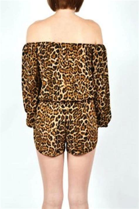Animal Romper yipsy animal print romper from louisiana by yipsy boutique
