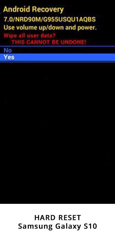 Samsung Galaxy S10 Reset by Como Hacer Reset Al Samsung Galaxy S10 Exynos