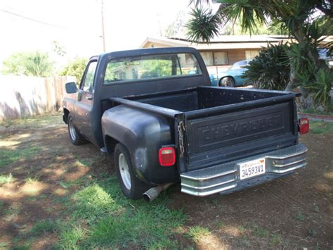 chevy stepside bed for sale 1979 c10 chevy stepside short bed classic chevrolet c 10