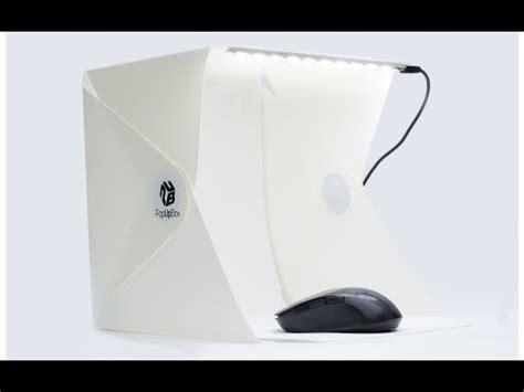 beleuchtung produktfotografie review pop up box kompaktes lichtzelt faltbarer f 252 r