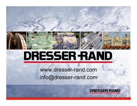 Dresser Rand Competitors by Dresser Inc 10k