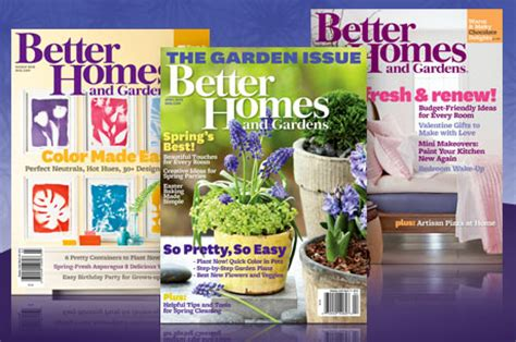 better homes gardens magazine subscription 4 99 southern savers