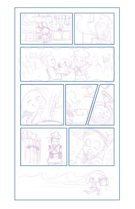layout komik cara membuat komik perencanaan dan layout comic anda