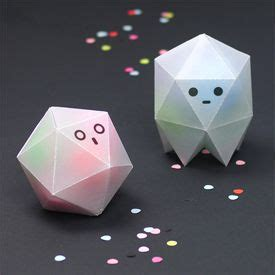 make these see through origami ghost boxes diy wax