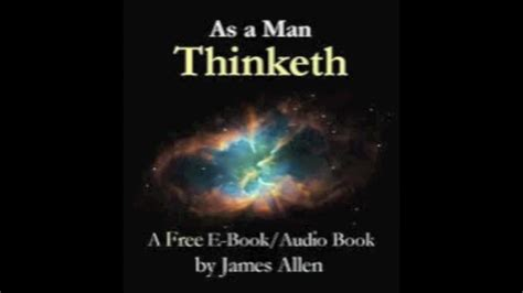 libro as a man thinketh as a man thinketh di james allen audiolibro youtube