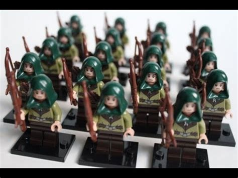 Haldir Pg509 Lord Of The Rings Lotr Minifigure Lego Kw lego hobbit mirkwood army