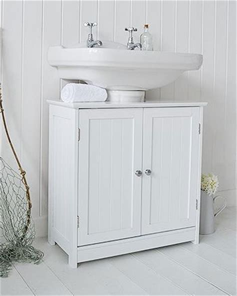 Cabinets For Pedestal Bathroom Sinks by White Undersink Bathroom Storage With Handle Cabinet