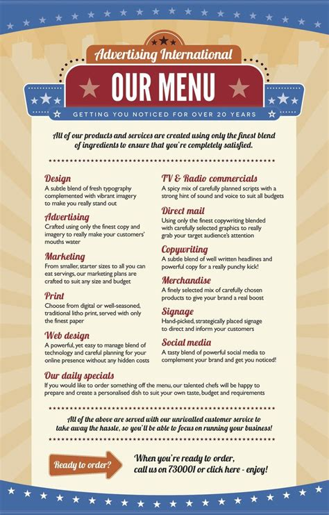 menu sle template 17 best images about retro 50s diner on