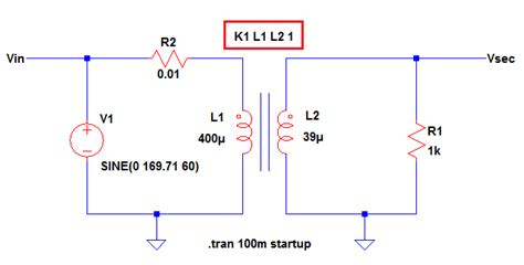 non ideal inductor non ideal inductor ltspice 28 images inductance simulating real world transformer with