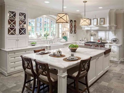 kitchen island with table seating kitchen islands with seating for 4 kenangorgun