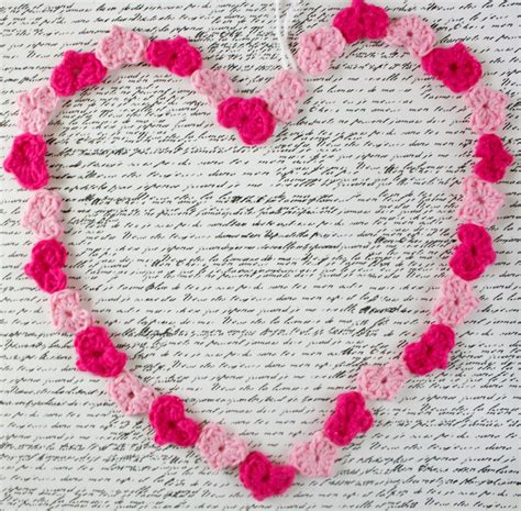 heart garland pattern inspiration monday linky party your homebased mom
