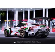 Toms Castrol Toyota FT 1 Super GT By Javieroquendodesign
