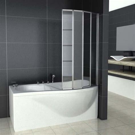 folding glass bath shower screen 1 2 3 4 5 fold pivot folding bath shower screen 1400 glass door panel seal ebay