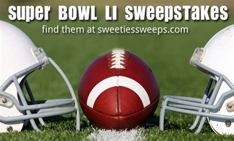 Super Bowl Giveaways - super bowl li 2017 sweepstakes win big before during