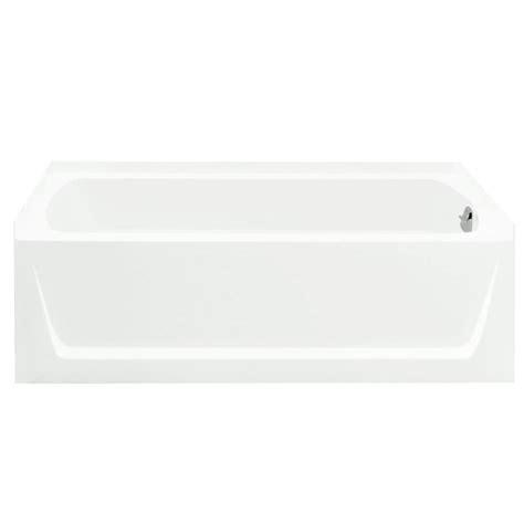 maui bathtub bootz industries maui 5 ft right drain soaking tub in