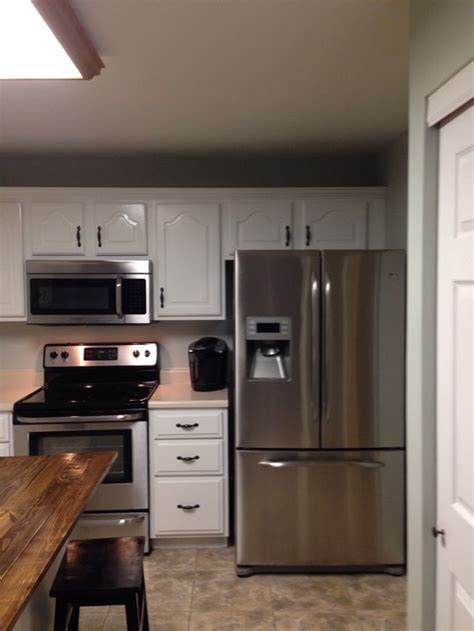 How To Install New Kitchen Cabinets cabinet above refrigerator