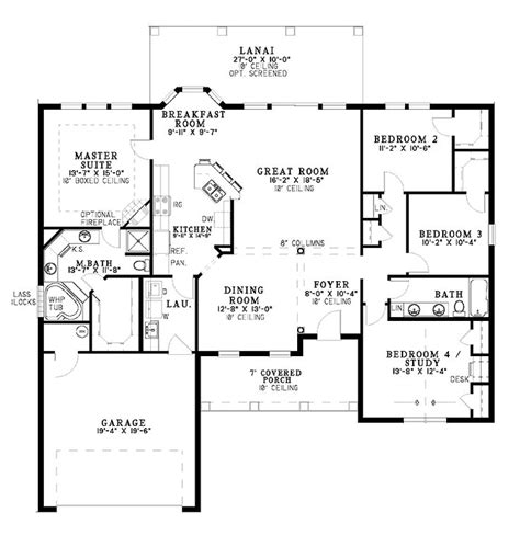 single level floor plans best 25 one level homes ideas on one level