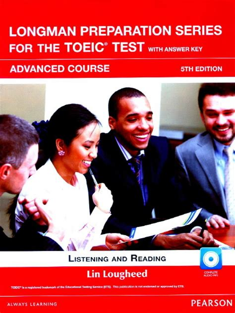 Oxford Preparation Course For Toeic Test longman preparation series for the toeic test 5th edition