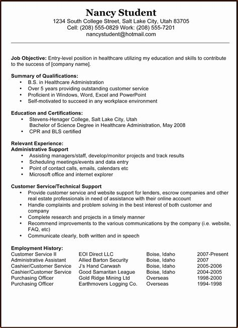 professional resumes template all resume simple