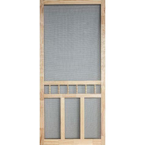 36 in x 80 in wood classic screen door wcla36 the home