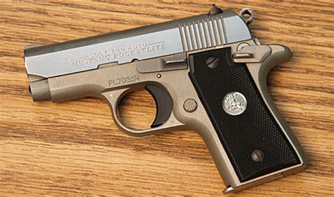 colt mustang pistol gun review colt mustang pocketlite range tv
