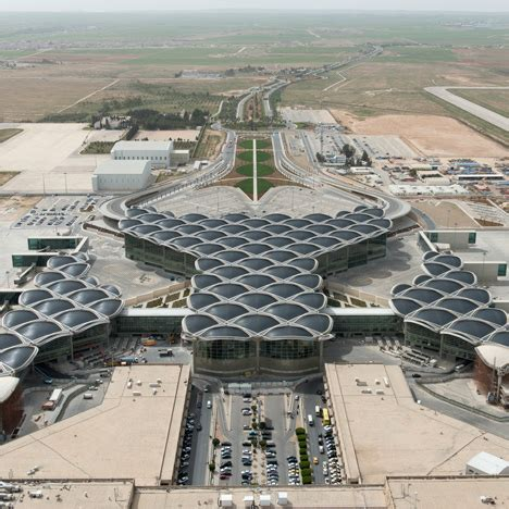 queen alia international airport queen alia international airport by foster partners