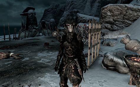 ritual armor of boethiah at skyrim nexus mods and community ritual armor of boethiah german translation at skyrim